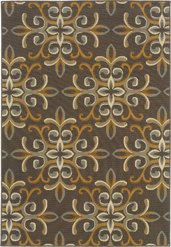 Oriental Weavers Bali 8990H Grey/Gold Area Rug main image