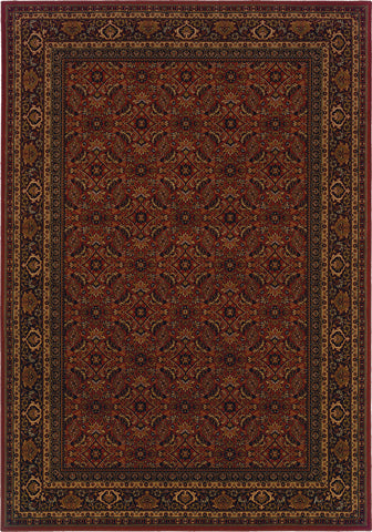 Oriental Weavers Cambridge 180C2 Red/Black Area Rug main image