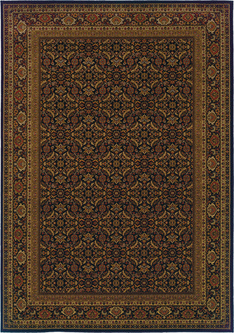 Oriental Weavers Cambridge 180N2 Black/Red Area Rug main image