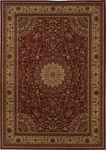 Oriental Weavers Cambridge 195R2 Red/Ivory Area Rug main image