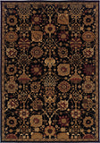 Oriental Weavers Cambridge 4520K Black/Multi Area Rug main image