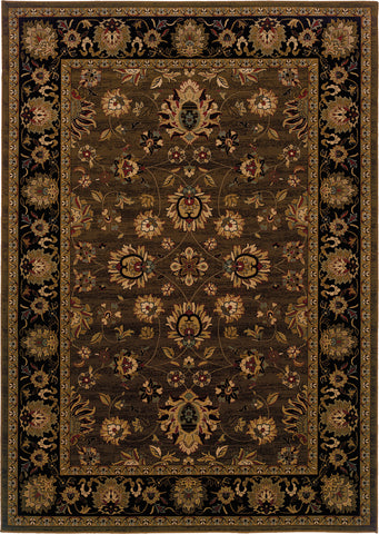 Oriental Weavers Cambridge 530N2 Brown/Black Area Rug main image