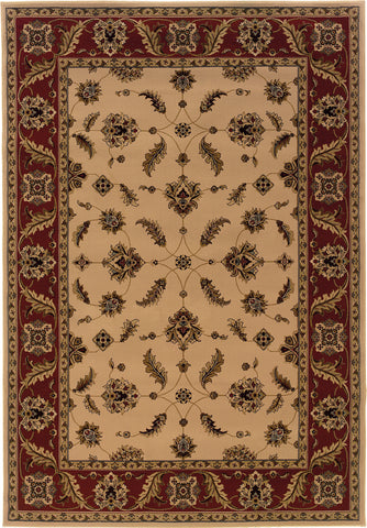 Oriental Weavers Cambridge 531I2 Ivory/Red Area Rug main image