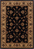 Oriental Weavers Cambridge 531Q2 Black/Ivory Area Rug main image