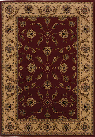 Oriental Weavers Cambridge 531R2 Red/Ivory Area Rug main image