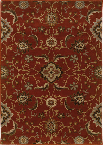 Oriental Weavers Casablanca 4471B Red/Multi Area Rug main image