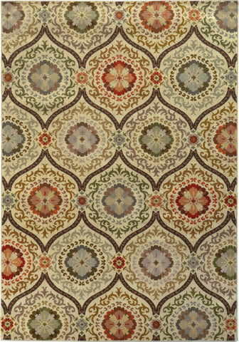 Oriental Weavers Casablanca 5324A Brown/Beige Area Rug main image