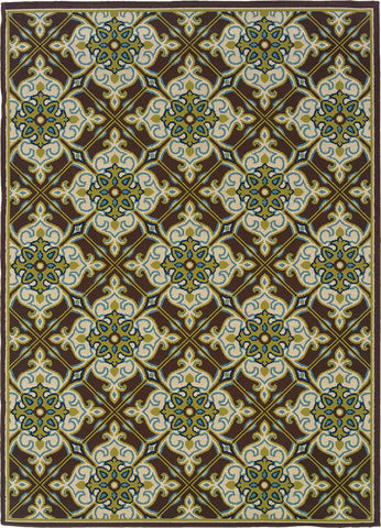 Oriental Weavers Caspian 1005D Brown/Ivory Area Rug main image