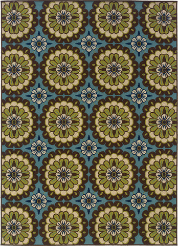 Oriental Weavers Caspian 8328L Blue/Brown Area Rug main image