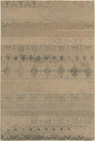 Oriental Weavers Chloe 3691H Tan/Blue Area Rug main image