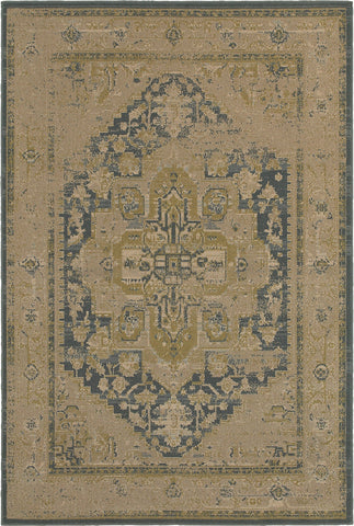 Oriental Weavers Chloe 4694A Tan/Blue Area Rug main image