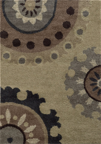Oriental Weavers Covington 4926J Beige/Midnight Area Rug main image