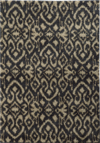 Oriental Weavers Covington 505B6 Midnight/Beige Area Rug main image