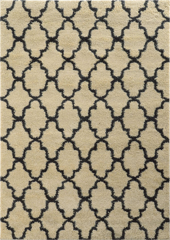 Oriental Weavers Covington 091W6 Ivory/Midnight Area Rug main image