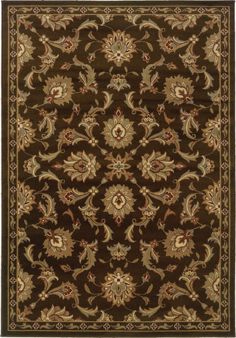 Oriental Weavers Darcy 1330N Brown/Green Area Rug main image