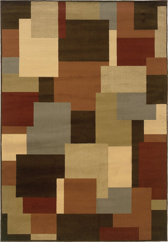 Oriental Weavers Darcy 2065D Brown/Beige Area Rug main image