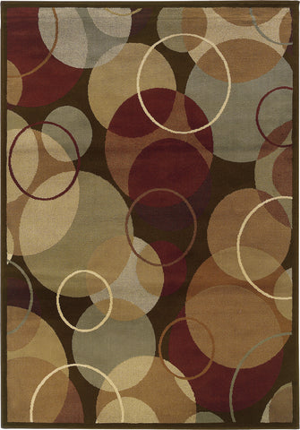 Oriental Weavers Darcy 2066D Brown/Gold Area Rug main image