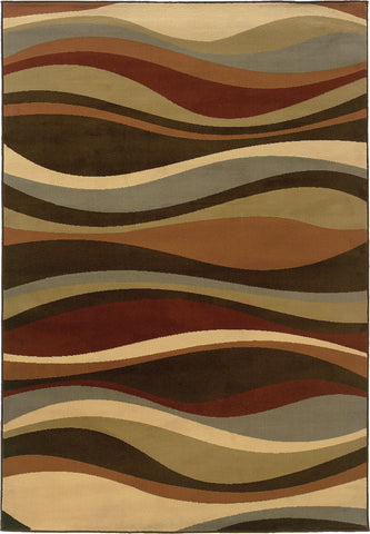 Oriental Weavers Darcy 4442N Brown/Multi Area Rug main image