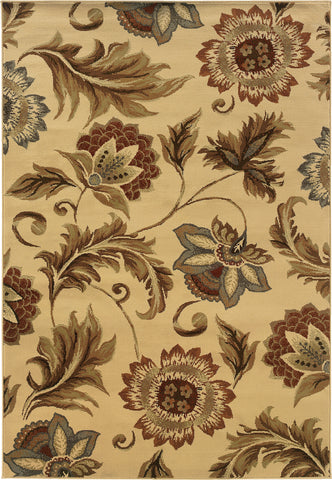Oriental Weavers Darcy 701W9 Beige/Gold Area Rug main image