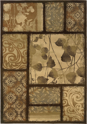 Oriental Weavers Darcy 8025D Brown/Tan Area Rug main image