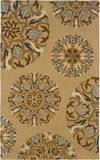 Oriental Weavers Eden 87102 Tan/Blue Area Rug main image