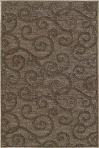Oriental Weavers Elisa 119N2 Brown/ Grey Area Rug main image