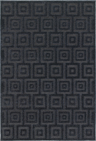 Oriental Weavers Elisa 2061B Navy/ Blue Area Rug main image