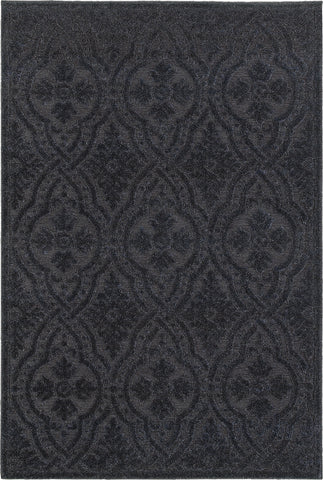 Oriental Weavers Elisa 501B7 Navy/ Blue Area Rug main image
