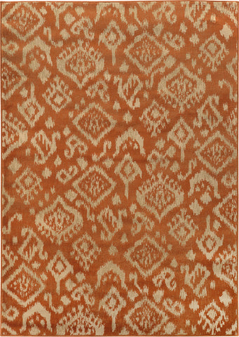 Oriental Weavers Ella 5113C Orange/Beige Area Rug main image