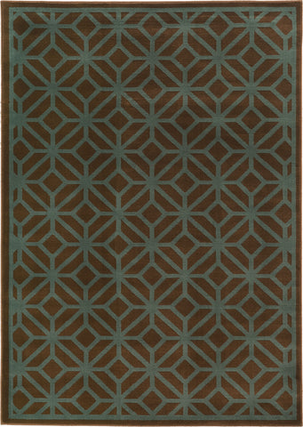 Oriental Weavers Ella 5188D Brown/Blue Area Rug main image
