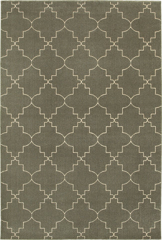 Oriental Weavers Ellerson 5994D Grey/Ivory Area Rug main image