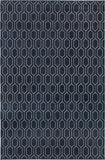 Oriental Weavers Ellerson 8021X Navy/Grey Area Rug main image