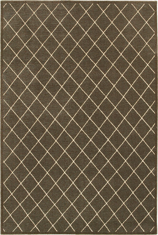 Oriental Weavers Ellerson 090N4 Brown/Ivory Area Rug main image