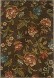 Oriental Weavers Emerson 1997A Brown/Green Area Rug main image