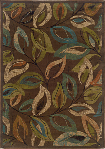 Oriental Weavers Emerson 1999A Brown/Green Area Rug main image