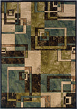 Oriental Weavers Emerson 2817A Beige/Blue Area Rug main image