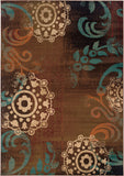 Oriental Weavers Emerson 2822A Brown/Blue Area Rug main image