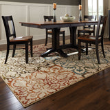 Oriental Weavers Emerson 4872A Ivory/Multi Area Rug Roomshot