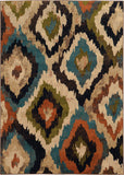 Oriental Weavers Emerson 4875A Blue/Brown Area Rug main image