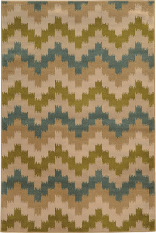 Oriental Weavers Emerson 4876C Blue/Green Area Rug main image