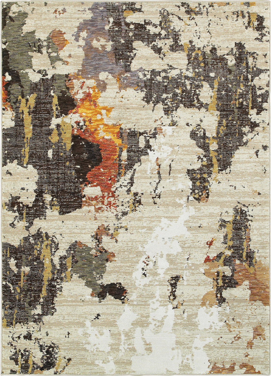 Oriental Weavers Evolution 7770J Beige/ Charcoal Area Rug main image
