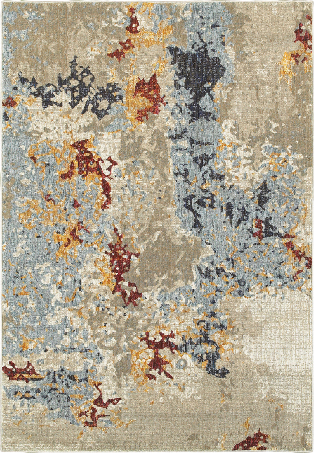 Oriental Weavers Evolution 8043K Beige/ Blue Area Rug main image