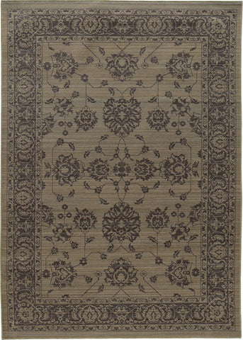 Oriental Weavers Foundry 4924E Grey/ Grey Area Rug main image