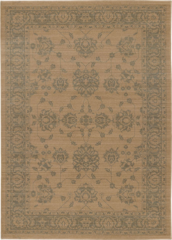 Oriental Weavers Foundry 4924W Sand/ Grey Area Rug main image