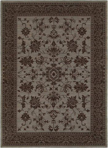 Oriental Weavers Foundry 597E5 Blue/ Grey Area Rug main image