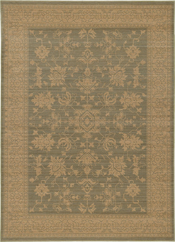Oriental Weavers Foundry 597Y5 Blue/ Beige Area Rug main image