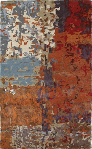Oriental Weavers Galaxy 21904 Multi/ Orange Area Rug main image