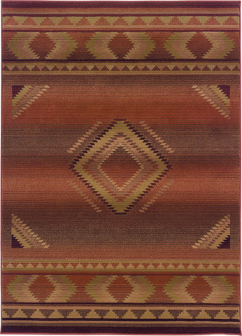 Oriental Weavers Generations 1506C Red/Beige Area Rug main image