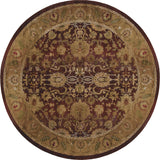 Oriental Weavers Generations 1732M Purple/Gold Area Rug 6' Round