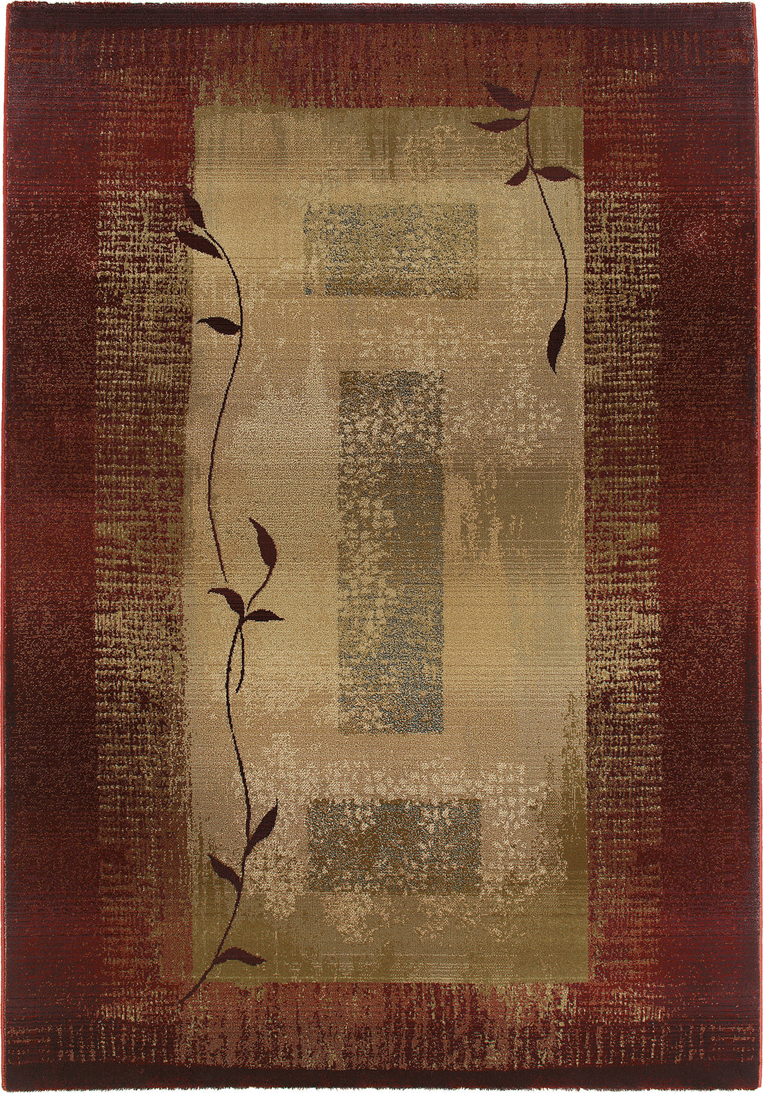 Oriental Weavers Generations 544X1 Red/Beige Area Rug main image